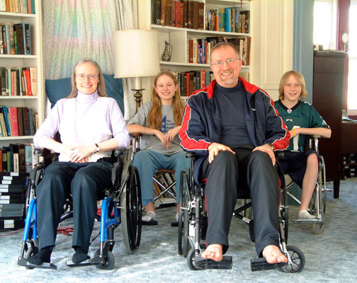 Groves Family Wheelchair Portrait